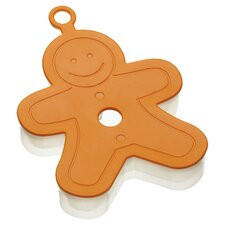 Let's Make Gingerbread Man Cookie Cutter