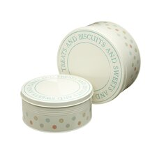 Classic Patterned Round Metal Cake Tins