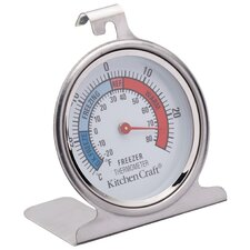 Stainless Steel Fridge Thermometer