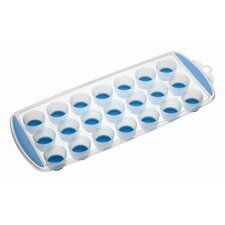 Colourworks Flexible Pop Out Twenty-one Hole Ice Cube Tray in Blue