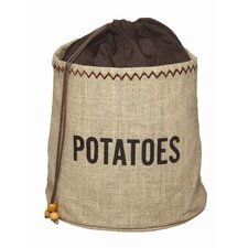 Java Hessian Potato Preserving Bag with Blackout Lining