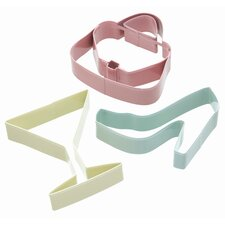Sweetly Does It Cookie Cutter Set - Glamour Patterned in Assorted Colours