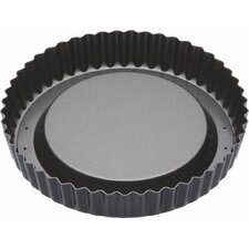Master Class Non-Stick Raised Loose Base Fluted Flan Tin