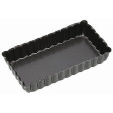 Non-Stick Mini Fluted Oblong Tart Tins