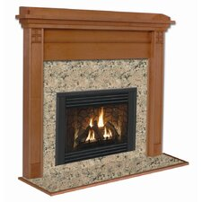 Deluxe Royalton Flush Fireplace Mantel Surround