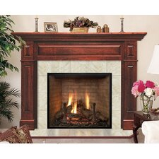 Deluxe Lewiston Flush Fireplace Mantel Surround