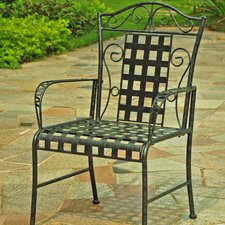 <strong>International Caravan</strong> Mandalay Patio Dining Chair (Set of 2) (Set of 2)