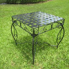 <strong>International Caravan</strong> Mandalay Iron Patio Side Table