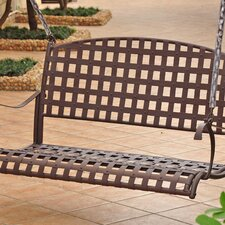 <strong>International Caravan</strong> Santa Fe Wrought Iron Porch Swing