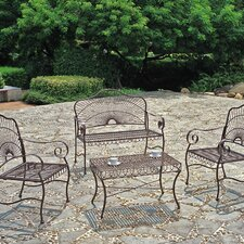 <strong>International Caravan</strong> Sun Ray 4-Piece Patio Set