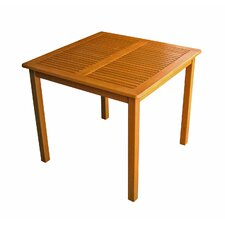"<strong>International Caravan</strong> Royal Tahiti 32"" Square Patio Table"