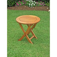 "Royal Tahiti 19"" Folding Patio Side Table"