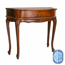 Windsor Hand-Carved One Drawer Hall Table