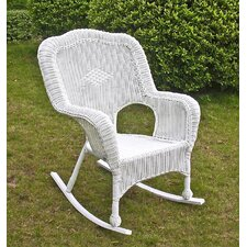 Chelsea Outdoor Wicker Resin Patio Rocking Chair