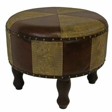 Seville 20 Faux Leather Indoor Ottoman