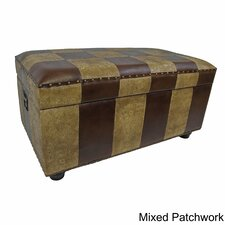 Faux Leather Bedroom Storage Trunk/Bench