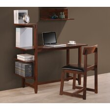 Washington Writing Desk with Side Shelf