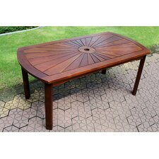 Acacia Palmdale Sunrise Patio Garden Table