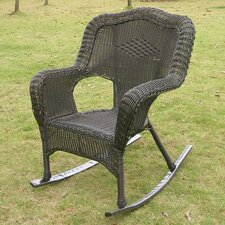 Chelsea Wicker Resin Outdoor Rocking Chair (Set of 2)