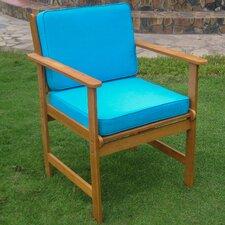 Royal Tahiti Gulf Port Patio Chair with Cushion (Set of 2)