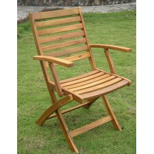 Acacia Chelsea Folding Dining Arm Chair