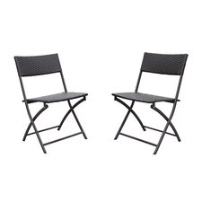 Catalina Folding Dining Side Chairs (Set of 2)