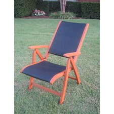 International Caravan Set of 2 Royal Tahiti 5-Position Patio Lounge Chair