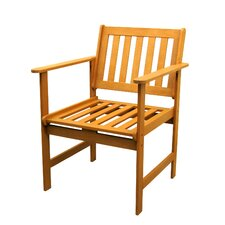 <strong>International Caravan</strong> Patio Dining Arm Chairs (Set of 2)