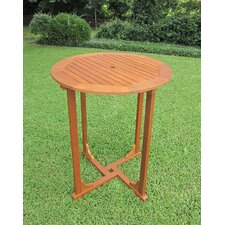 <strong>International Caravan</strong> Royal Tahiti Bar Height Round Patio Dining Table
