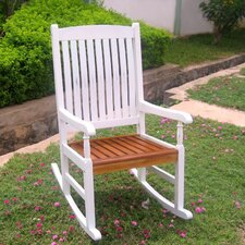 Acacia Patio Traditional Porch Rocking Chair