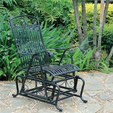 Iron Patio Single Glider