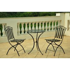 <strong>International Caravan</strong> Venice 3 Piece Bistro Set