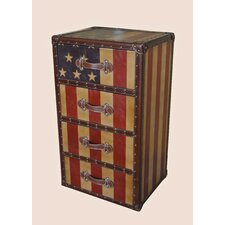 Americana 4 Drawer Chest