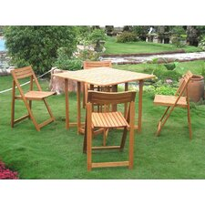 <strong>International Caravan</strong> Royal Tahiti Galveston 5 Piece Dining Set