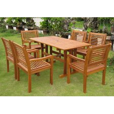 Royal Tahiti Baza 7 Piece Dining Set