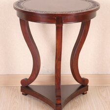 <strong>International Caravan</strong> Windsor Hand Carved End Table