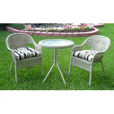 Somerset 3 Piece Dining Set