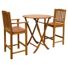 <strong>International Caravan</strong> Royal Tahiti Terrassa 3 Piece Bistro Set