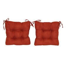<strong>Blazing Needles</strong> Dining Chair Cushion (Set of 2)