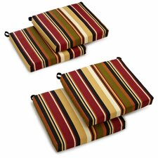 <strong>Blazing Needles</strong> Patio Chair Cushion (Set of 4)