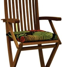 <strong>Blazing Needles</strong> Bar Height Folding Patio Chair Cushion (Set of 2)