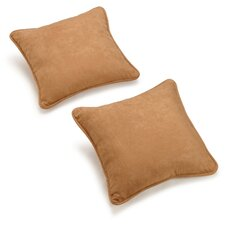 "18"" Microsuede Pillow Package (Set of 2)"