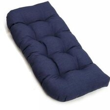 All-Weather UV-Resistant U-Shaped Patio Loveseat Cushion