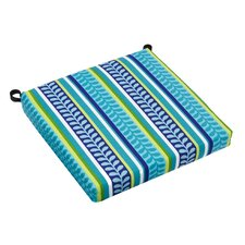 All-Weather UV-Resistant Square Patio Chair Cushion