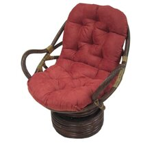 <strong>Blazing Needles</strong> Premium Swivel Rocker Cushion