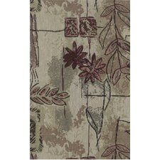 <strong>Blazing Needles</strong> Tapestry Japanese Garden Futon Cover Set