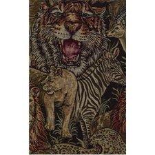 <strong>Blazing Needles</strong> Tapestry Safari Futon Cover
