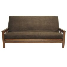 Micro Suede Chocolate Futon Cover