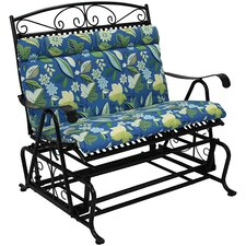 Outdoor Double Glider Chair Cushion