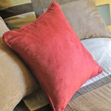 <strong>Blazing Needles</strong> Micro Suede Throw Pillow (Set of 2)